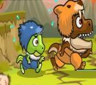 لعبة ديناصورات العصر