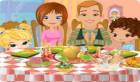 طبخ طعام العائلة