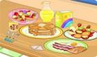 طبخ طعام الافطار