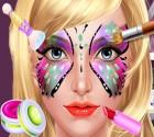 لعبة صالون رسم الوجه