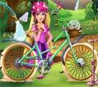 لعبة تصليح دراجة ريبونزيل