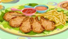 لعبة طبخ دجاج مقلي