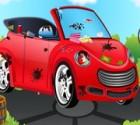 لعبة السيارة المجنونة