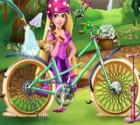 لعبة دراجة باربي
