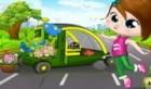 لعبة سيارة الازهار
